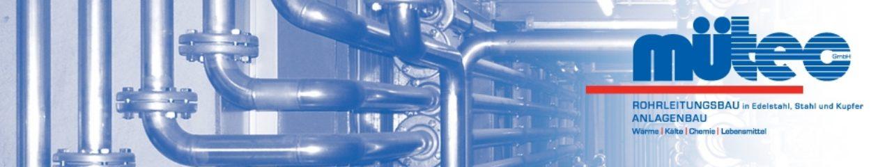 Mütec GmbH | Rohrleitungsbau | Anlagenbau  | Verfahrenstechnik